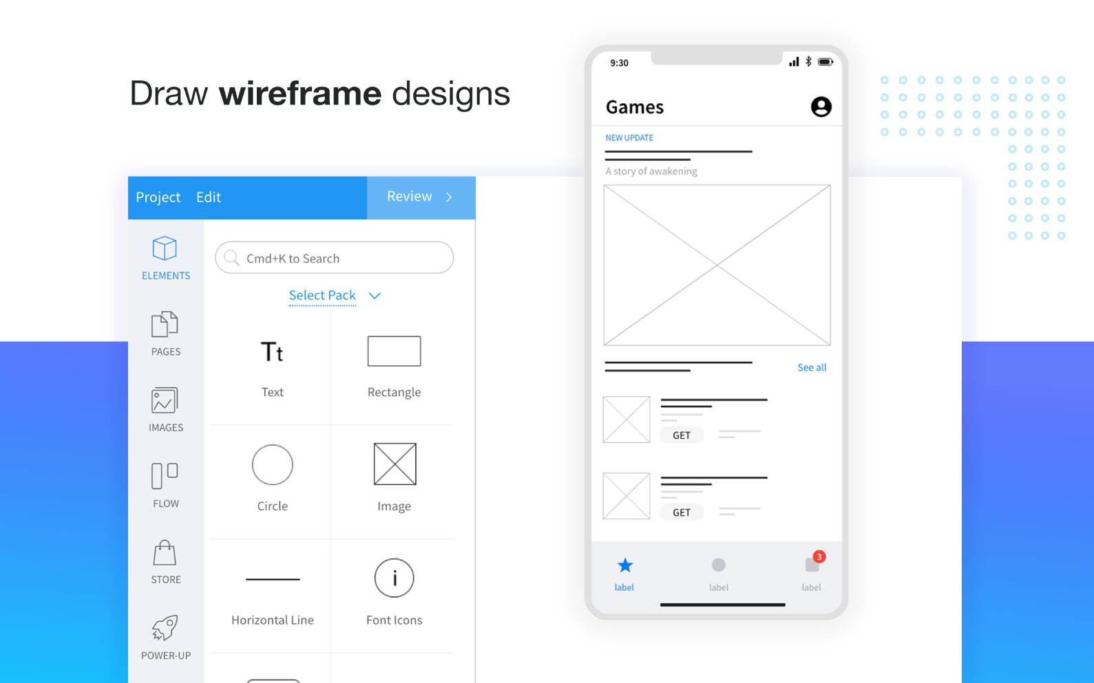 MockFlow - Online Wireframe Tools, Prototyping Tools, Design